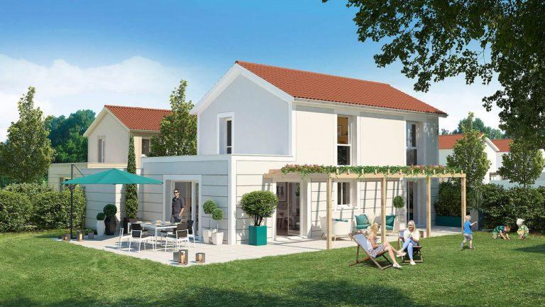 Maison neuve à Manissieux (Lyon Est / St Priest)