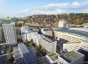 ALBIZZIA, programme immobilier neuf lyon confluence