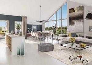 Programme immobilier neuf Votre projet immobilier neuf à Villeurbanne : Haven Hall